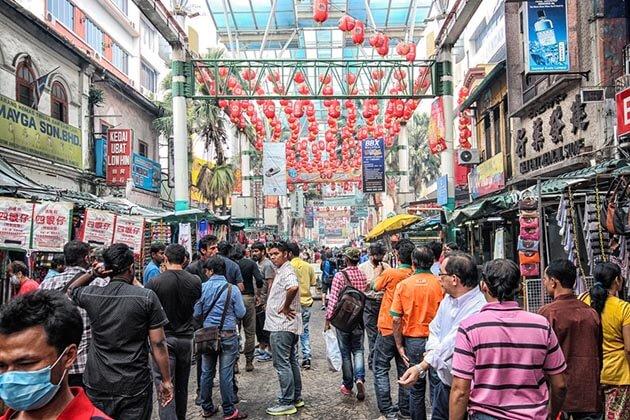 china town -malaysia vacation