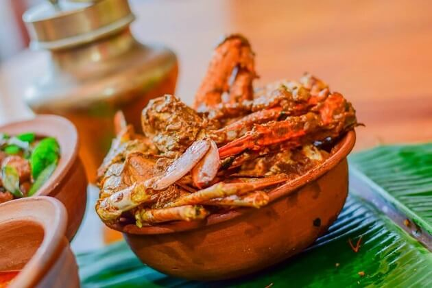 crab cury - sri lanka vacation packages