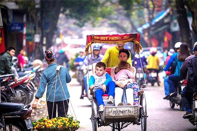 cyclo - vietnam cambodia thailand tour itinerary