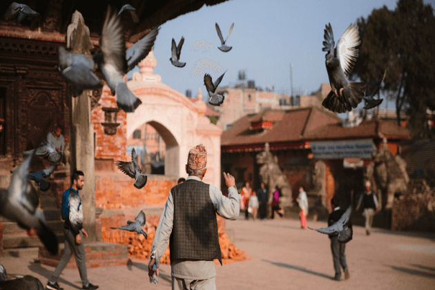 depart - nepal classic tour 6 days