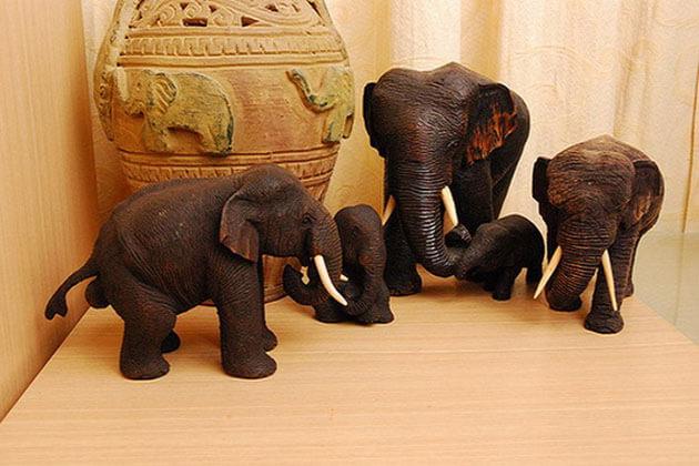 elephant souvenirs thailand