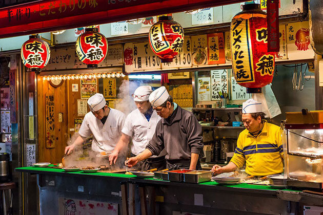 food stall - japan tour packages