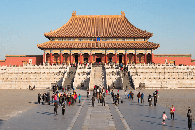 forbidden city - east asia tours