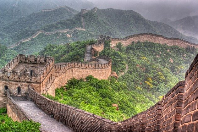 great wall - east asia travel