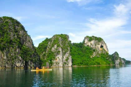 halong bay kayaking asian tour packages