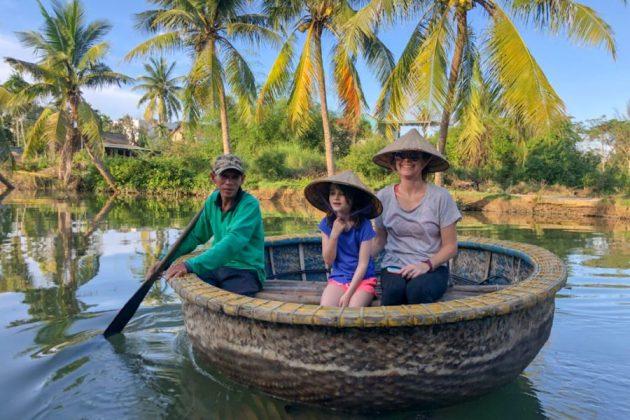 hoi an basket boat journey