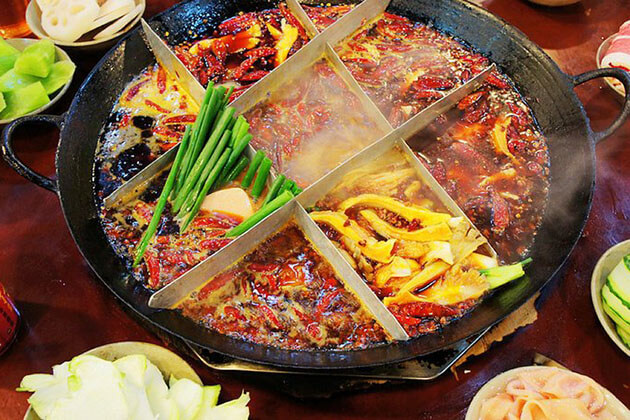 hot pot in Chongqing - best china tours