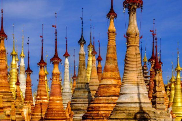 indein village in myanmar
