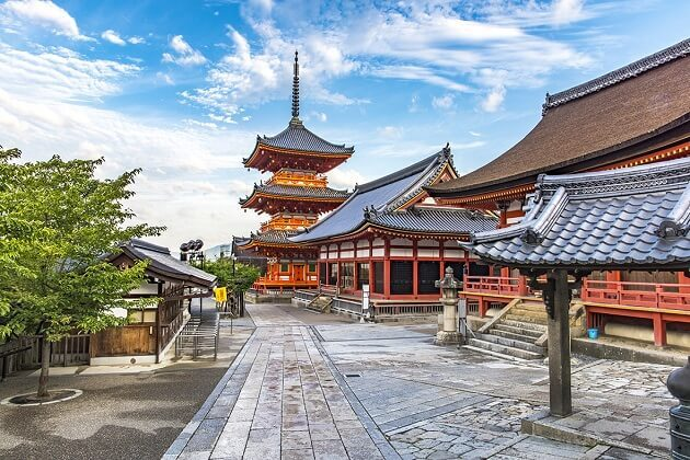 kiyomizu temple - east asia tour package