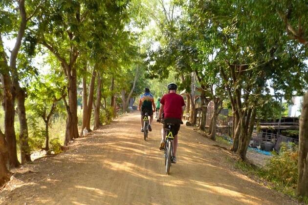 laos cycling trip