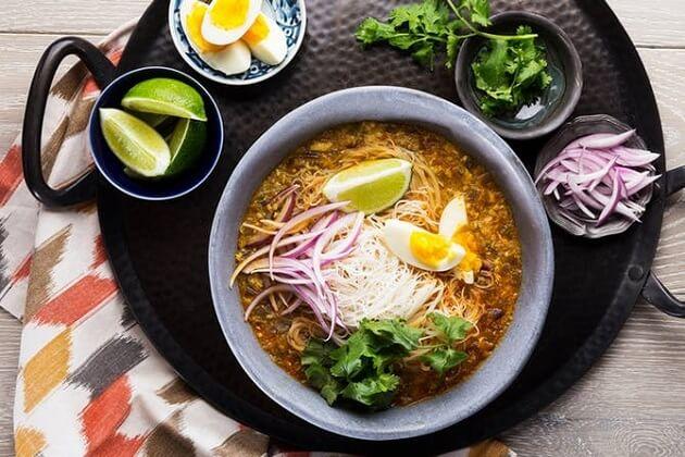 mohinga - best myanmar food