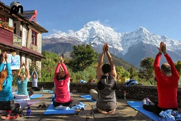 mountain yoga - nepal tours