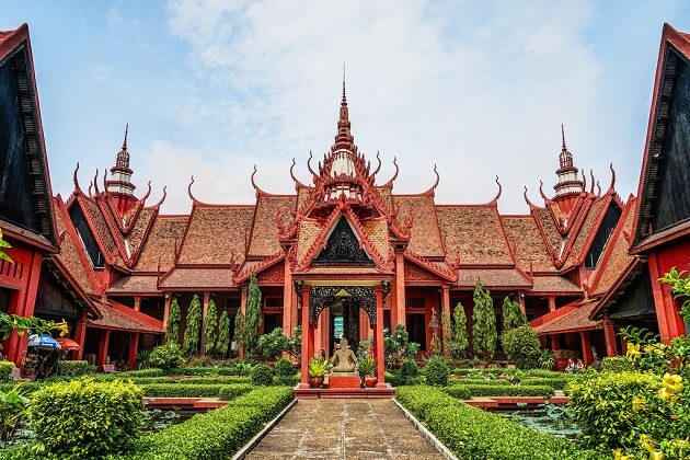 national museum - cambodia tours