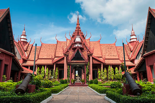 national museum - indochina 3 weeks