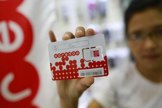 ooredoo - mobile sim card in myanmar