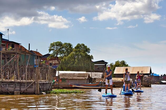 paddleboarding - cambodia best places