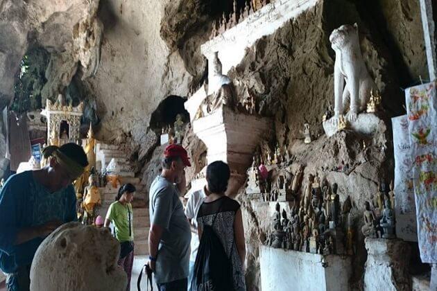 pak ou cave - asia adventure tours