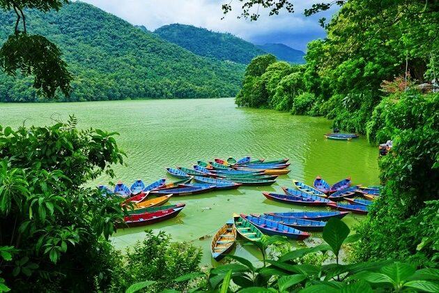 phewa lake - nepal tour 2 weeks