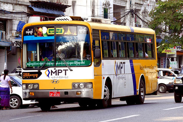 public transport - how safe is myanmar for tourists