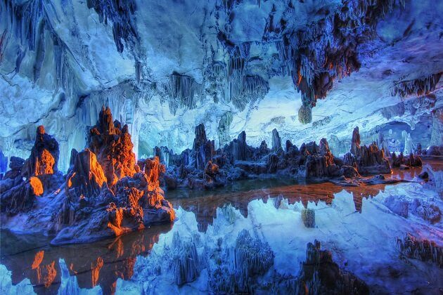 reed flute cave - travel packages to east asia