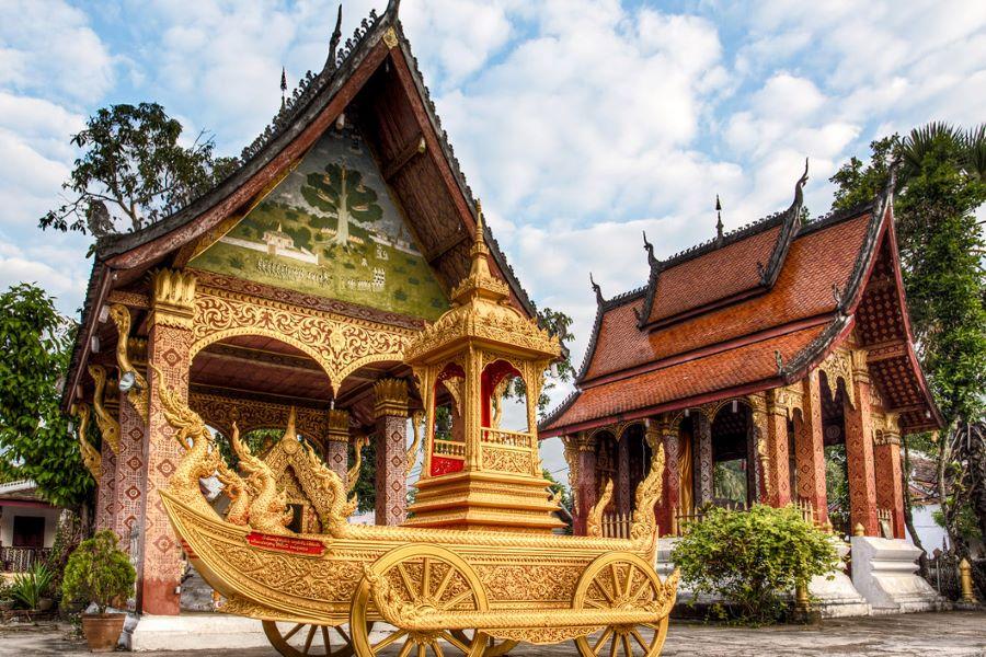 religious constructions in laos