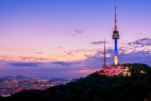 seoul tower - japan south korea taiwan trip