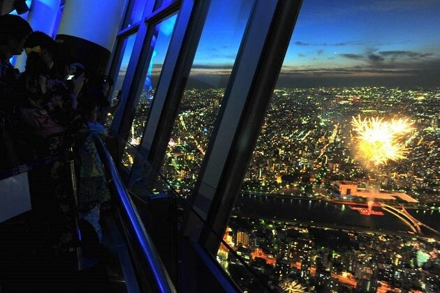skytree - east asia vacation