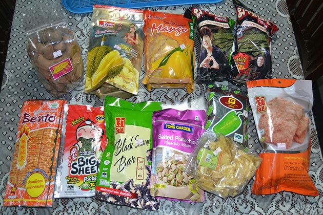 snack souvenirs thailand