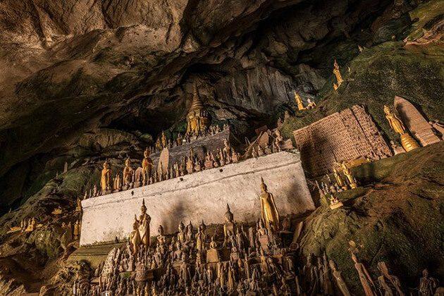 southeast asia adventure tours - Pak Ou Cave