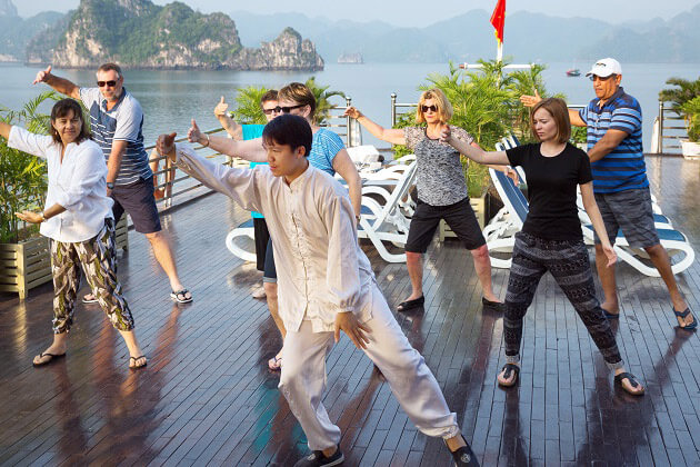 tai chi - vietnam laos cambodia tour packages