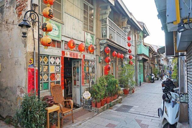 tainan - taiwan 2 week itinerary