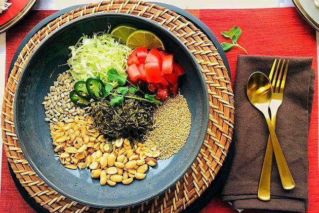 tea leaf - burmese food