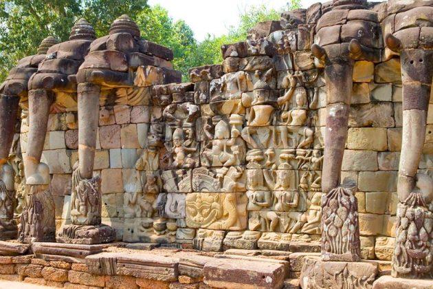 terrace of elephant siem reap