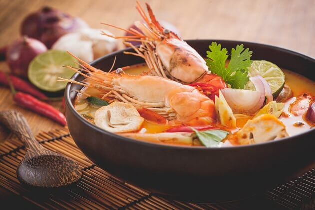 thailand food tom yum