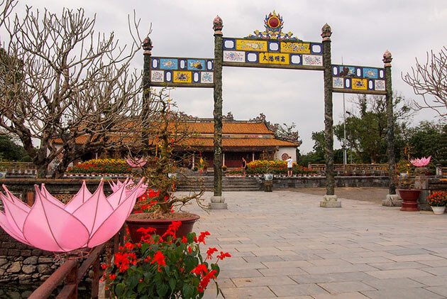 the Imperial Citadel - vietnam in 10 days itinerary
