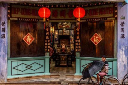 the ancient house of Hoi An