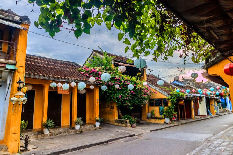the ancient town of hoi an in quang nam
