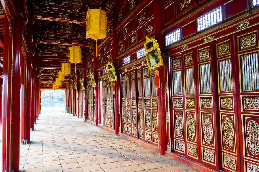 the imperial citadel in hue vietnam