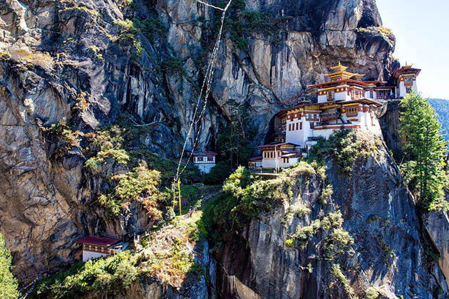 the tiger nest - bhutan nepal tibet travel