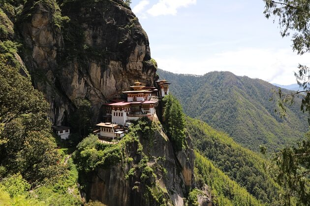 tiger nest - best south asia vacation