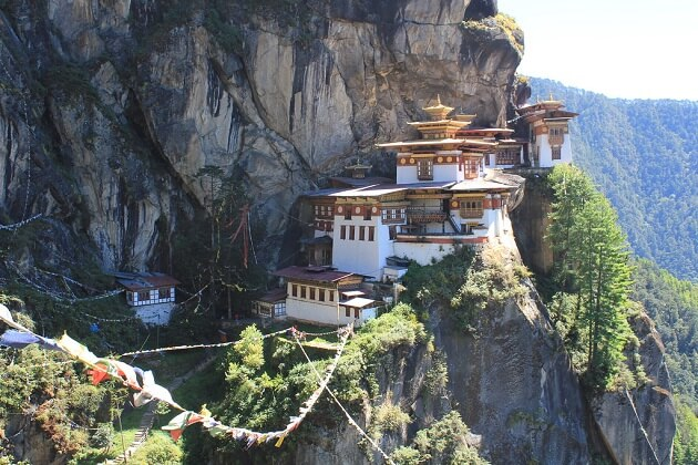 tiger nest - bhutan tours