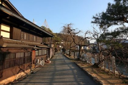 traditional town of Takayama - japan family holiday tours