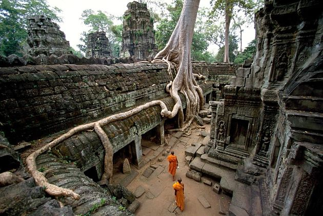 vietnam cambodia laos tour packages - ta prohm