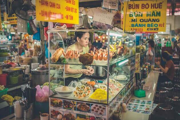 vietnam tours - street food