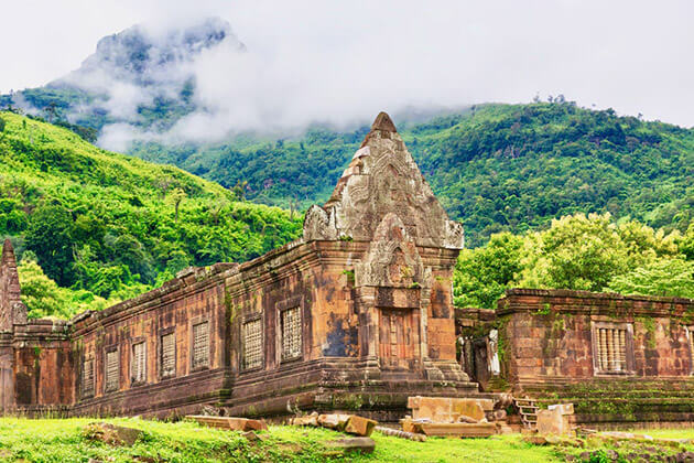 wat phou temple - vietnam cambodia laos myanmar tour