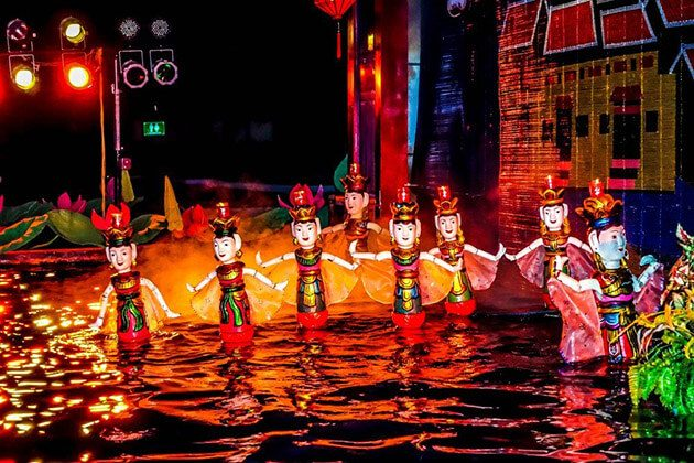 water puppet show multi-country asia tour packages
