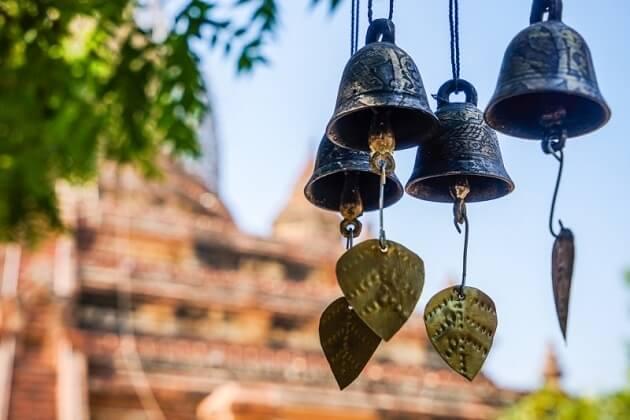 wind bell - myanmar famous souvenir