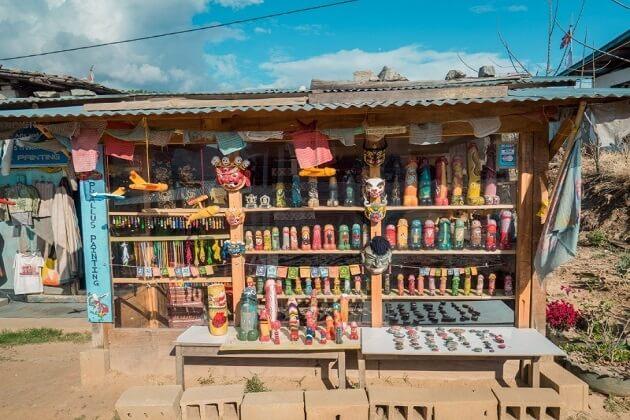 woonden phallus - best things to do in bhutan